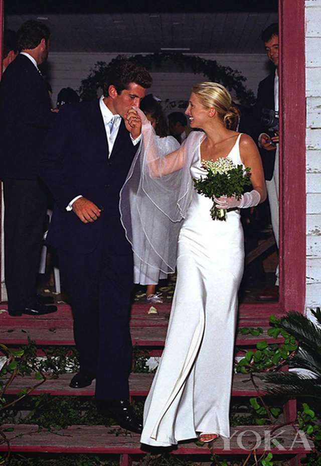 John F. Kennedy Jr.、Carolyn Bessette婚礼