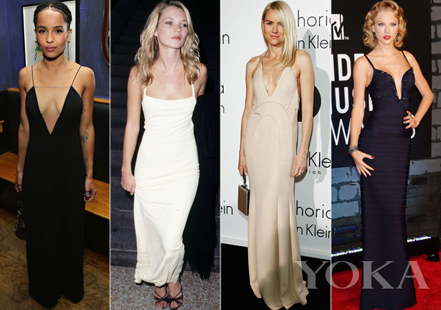 左起:Zoe Kravitz、Kate Moss、Naomi Watts、Taylor Swift